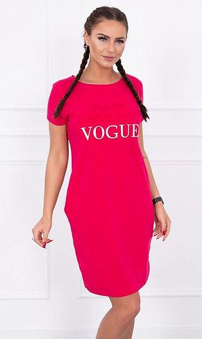 Dress With Pockets & VOGUE Print