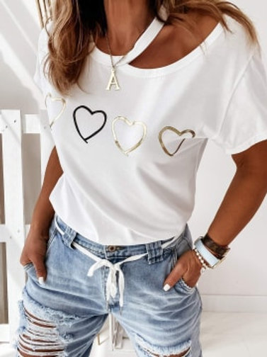 Ladies Cut-Out T-Shirts