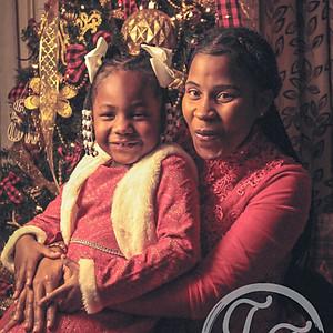 Kia & Heaven Christmas Shoot