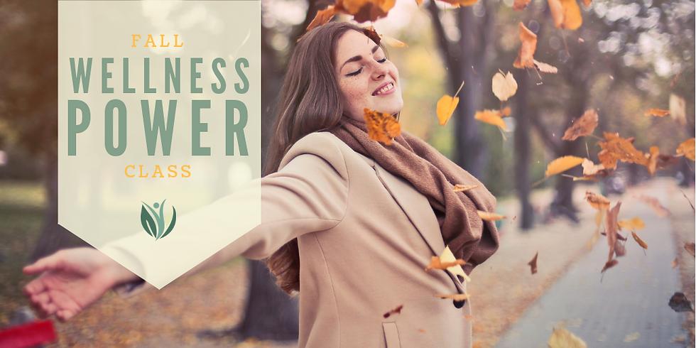 Fall Wellness Power Class-Live