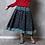 jupe basique manches longues /top coton et lin/laine