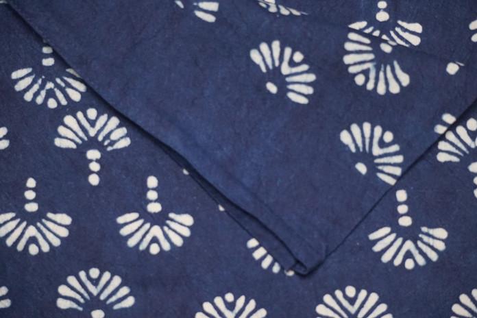 Nappe bleu indigo