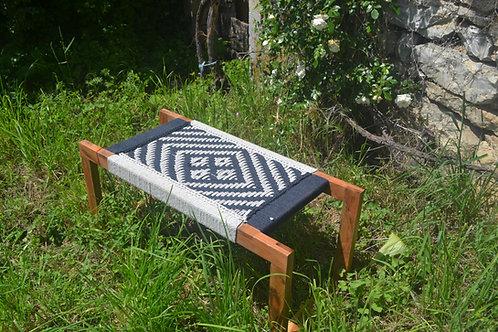 charpoy design/banc indien tressé/banc tressé/banc tressé blanc/charpoy blanc/charpoy couleur/charpoy Montpellier/alinea