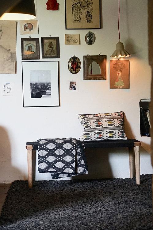banc tressé indien/banc indien/banc charpoy/banc tressé/meuble indien/charpoy/meubles de jardin/meubles inde/banc/tressage ch