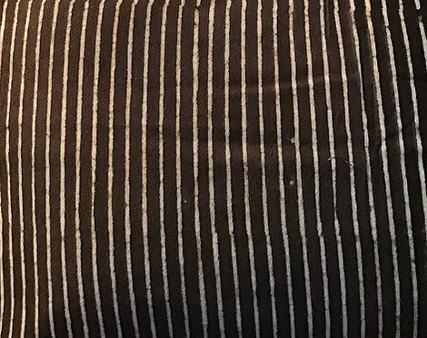Matelas charpoy/matelas noir et blanc/matelas sieste/matelas motif indigo/matelas souples/tapis méditation/matelas rayé/