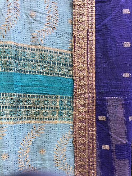 plaids anciens/plaids vintages indiens/plaids inde/plaids indiens/indian plaids/indian bed throws/indian bedcovers/caravane
