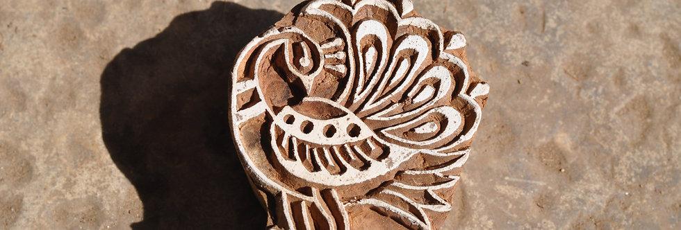 tampon Inde/hand block/block print/tampons bois inde/tampon indien/tampon inde/boutique déco figeac/meuble indien/Figeac/Lot