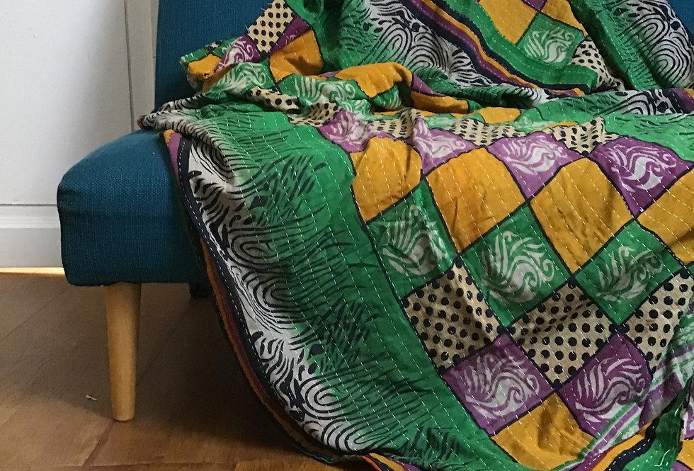 tissu vintage ancien/ tissu usé vintage inde/bouti inde vintage/tissus Figeac/ tissu Cahors/ tissu Toulouse/plaid ancien