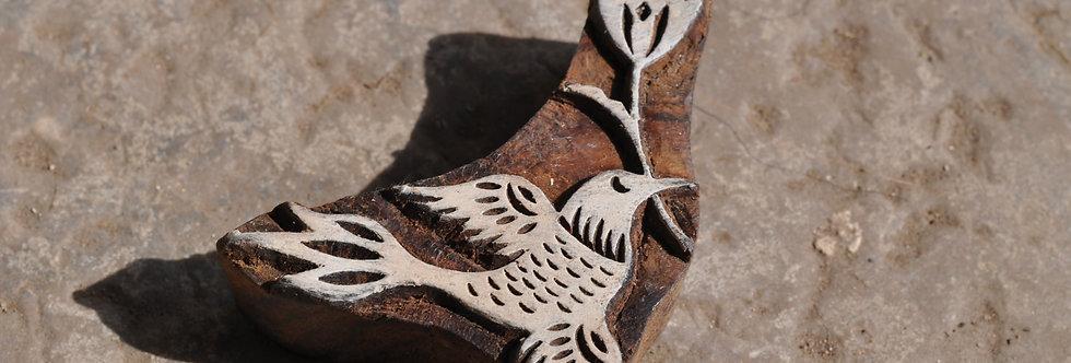 tampon Inde/bois/boutique deco Figeac/block print/meubles indiens/artisanat inde/impression tissu inde/tampons bois inde