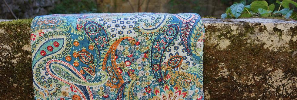 couvre lit motif paisley/Jamini couvre lit/plaid indien/bouti indien/jeté de lit indien/couvre lit seventies/bedspread