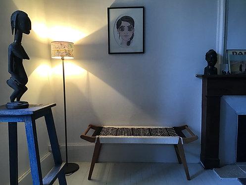 banc charpoy/meuble inde/banquette indienne/charpoy couleur/charpoy bench/daybed/lit indien/banc tressé/lit tressé/Toulouse