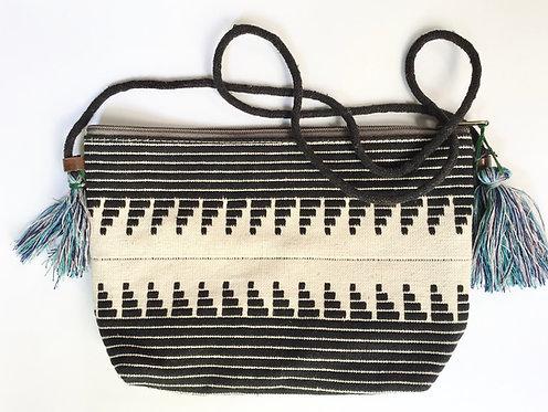 sac ethnic chic/sacà main jamini/sac brodé/sac à main grapghique/sac à main boheme chic/sac indien/sac/pochette jamini design