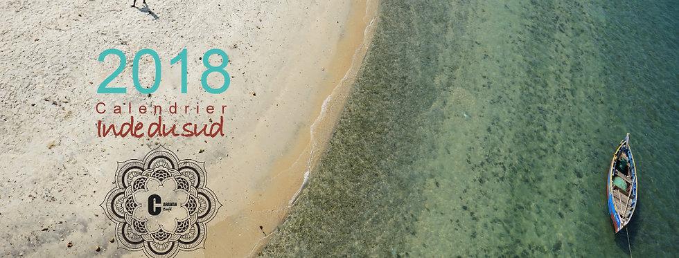calendrier/2018/agenda/carte/photos/livre/Inde/sud/itinéraire/carnet/voyage/kerala/bengalore/cochin/planner/librairie/Figeac