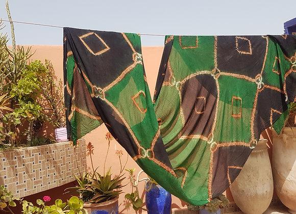MELHFA, voile de Mauritanie, cheich