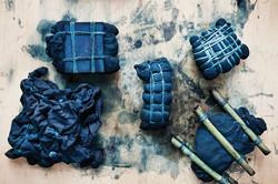 atelier shibori bleu indigo