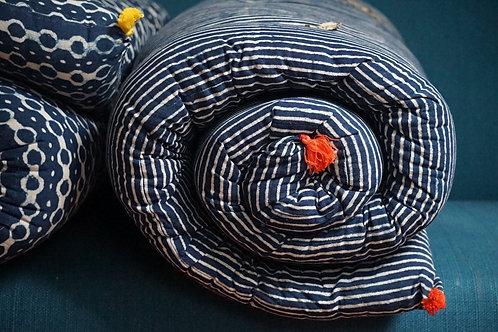 Matelas charpoy/matelas couleur/matelas de sieste/matelas motif indigo/matelas souples/tapis méditation/matelas pour charpoy/