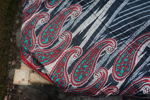 Plaid/vintage/bohème chic/couvre lit/Pankaj tissus/bouti Paris//tissus/linge maison/plaid/bedcover/bedspread/cahors/Lot/Paris