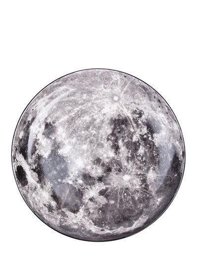 Assiette Seletti Diesel Cosmic dinner moon, lune