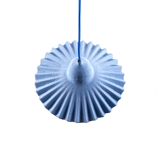 Lampe suspension bleue 3 grande taille EGG OF COLUMBUS Seletti