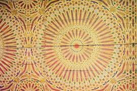 Boiseries palais au Maroc