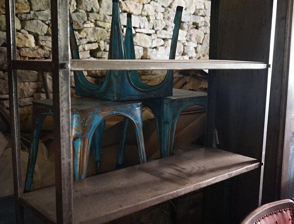 brocante/Figeac/meubles/bois/indus/industriel/Inde/métier/étagère/vitrine/Paris/métal/chatou/puces/clignancourt/Cahors/Lot