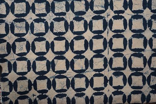 Nappe/tenture/bout de lit,/rideau/couvre lit (bleu indigo) coton épais