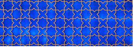 Zelliges modernes bleues