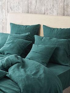 boutique merci paris tendances couvre lit drap de lit vert paon