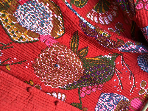 La veste indienne traditionnelle/veste surpiquée