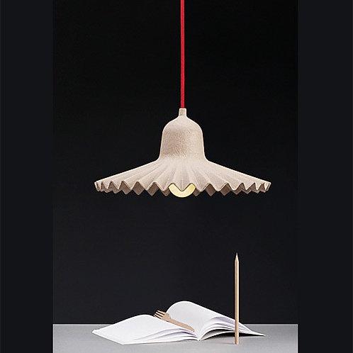 Lampe suspension natural 3 grande taille EGG OF COLUMBUS Seletti