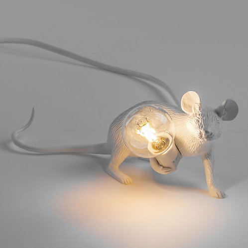 Lampe souris/ Mouse Lamp lie down Seletti design