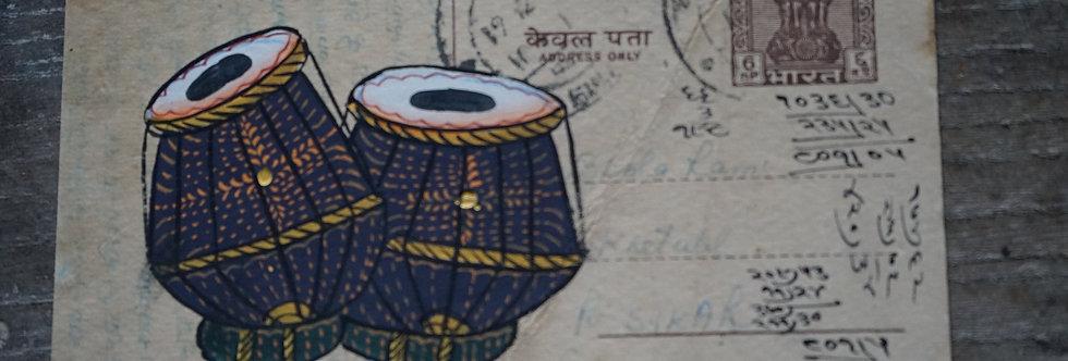 Miniature peinte, tradition indienne.
