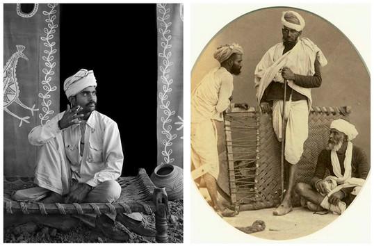 Photos anciennes du charpoy traditionnel