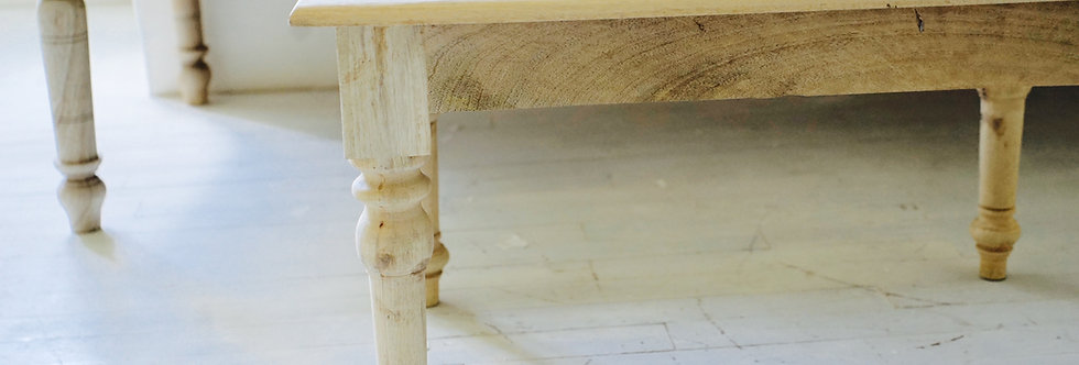 banquette bois terrasse/banquette indienne bois/petite table basse bois/banquette bois indienne/table charpoy/table indienne/