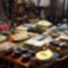 ambiance de noël au caravan café-cadeaux-meubles Figeac-meubles design
