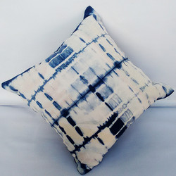 bed cover, couvre lit indigo