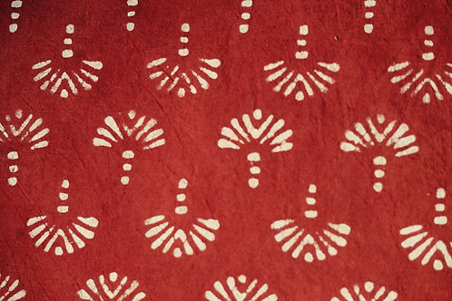 nappe rouge/tissu batik/couvre lit caravane/tissus Paris/Jamini couvre lit/shibori plaid/indian bedcover/indian bedspread/