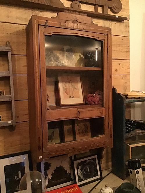 vitrine sdb/armoire pharmacie bois/meubles Figeac/meubles Cahors/meubles marcilhac/meubles indiens/brocante inde/meuble inde