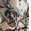 Top basique à manches longues /top coton et lin/col en V/ample/4 couleurs