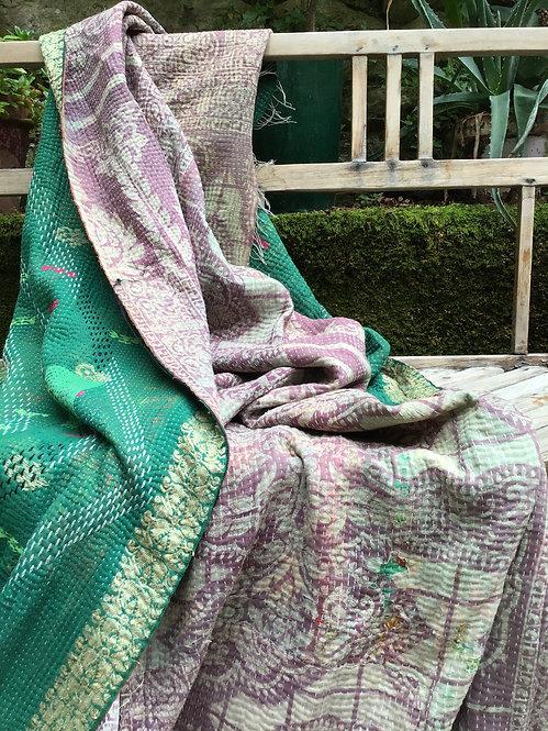 Plaid ou jeté de lit vintage 071 bohème chic
