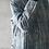 Top molletonné basique manches longues /top coton et lin/col droit