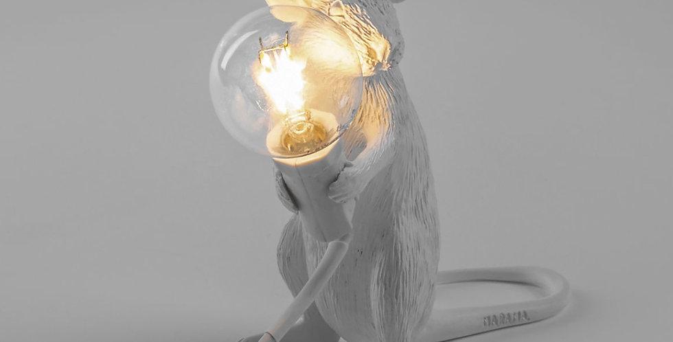Lampe souris/ Mouse Lamp Sitting Seletti