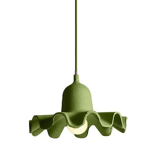 Lampe suspension green EGG OF COLUMBUS Seletti