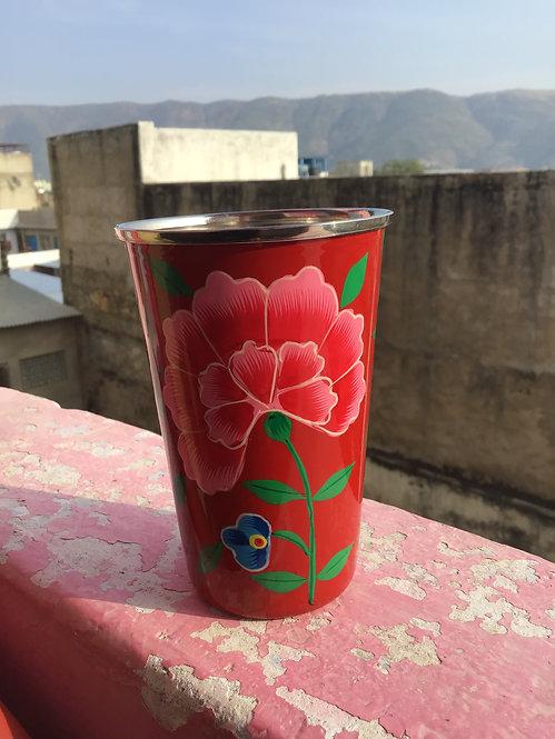 Meug peinte cachemire/meug motif cachemire/peinture émaillée /vaisselle cachemire/tasse peinture émaillée /artisanat indien