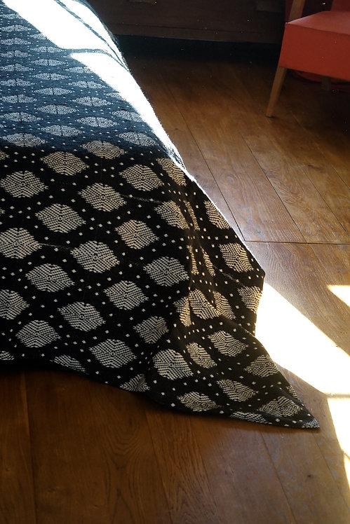 couvre lit motif ikat/Jamini couvre lit/plaid indien/bouti indien/jeté de lit indien/couvre lit seventies/bedspread