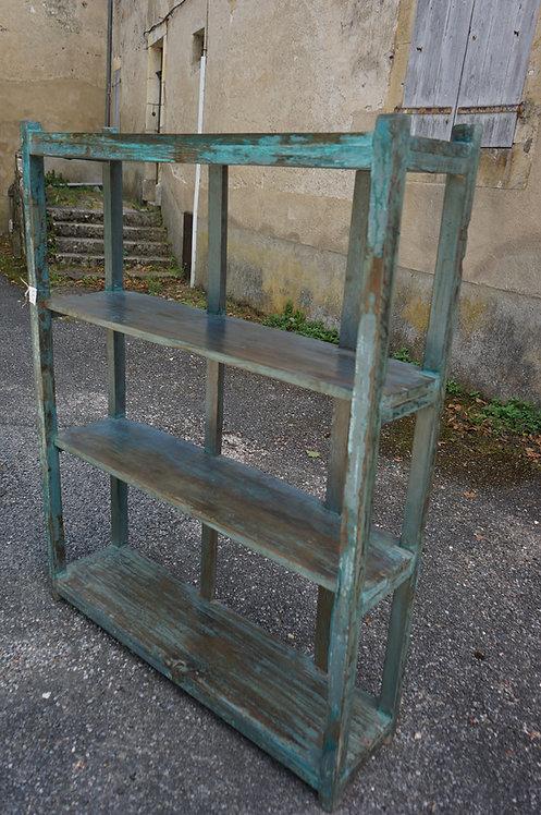 meuble/Indien/patine/bleue/Figeac/Marcilhac/boutique/déco/ameublement/indus/industriel/étagère/bois/Paris/commode/casiers/