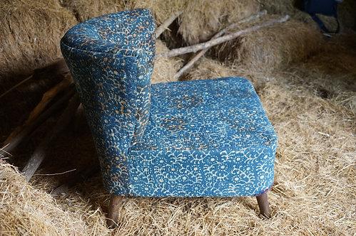 fauteuil/charpoy/vintage/esprit-de-siege/bleu/meuble/inde/banquette/banc/tressage/design/Figeac/Paris/montpellier/grenoble/