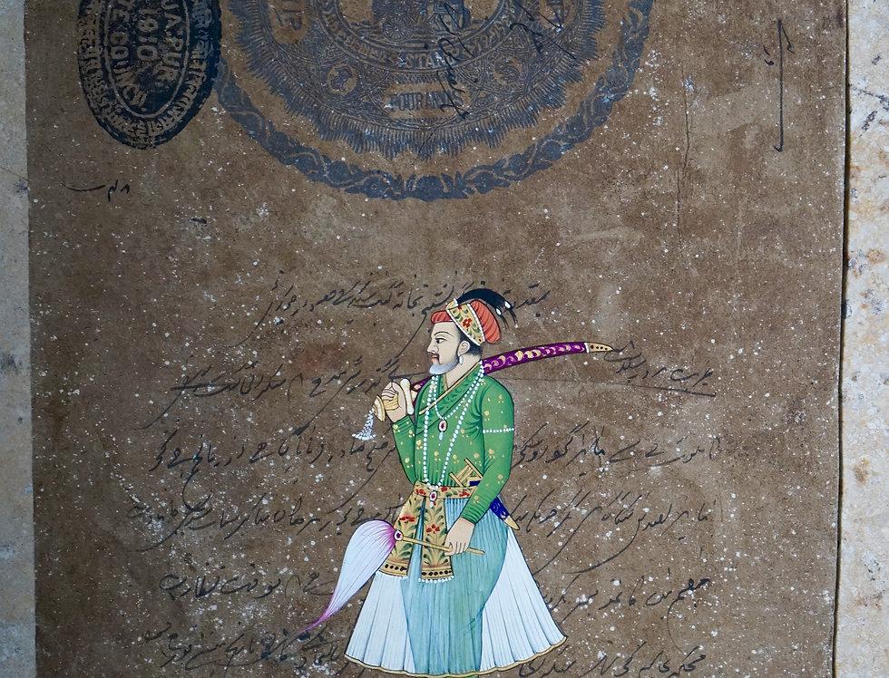 miniature indienne/costume indien/miniatures peintes indiennes/meubles indiens/artisanat Inde/art indien/miniature Inde