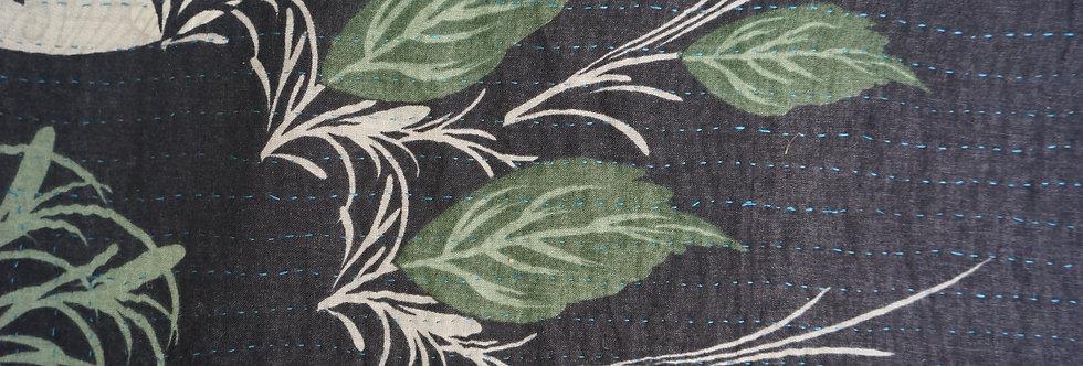 Tissu Inde, bouti, plaid ou jeté de lit vintage 478 bohème chic