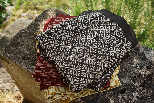 plaid shibori/tissu batik/couvre lit caravane/tissus Paris/Jamini couvre lit/shibori plaid/indian bedcover/indian bedspread/